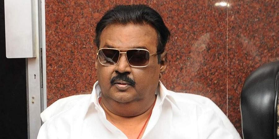 DMDK chief Vijayakant