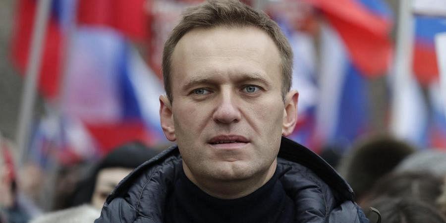 Russian opposition activist Alexei Navalny