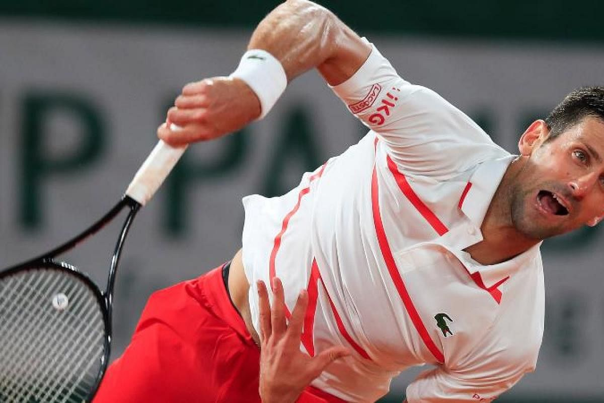 Disqualification Forgotten Novak Djokovic Leaves French Open Foe Suffocated The New Indian Express