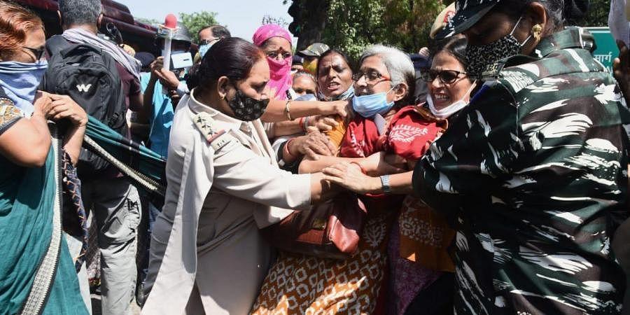 Hathras gang rape protests