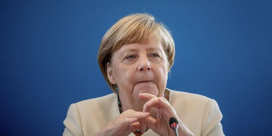 German Chancellor Merkel Applauds Impressive Women Protesters In Belarus The New Indian Express