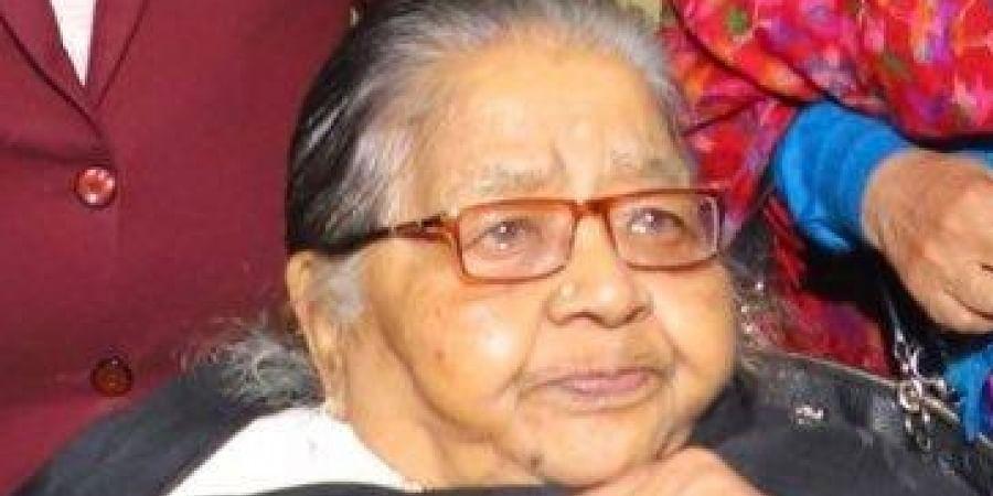 Harsh Vardhan mother