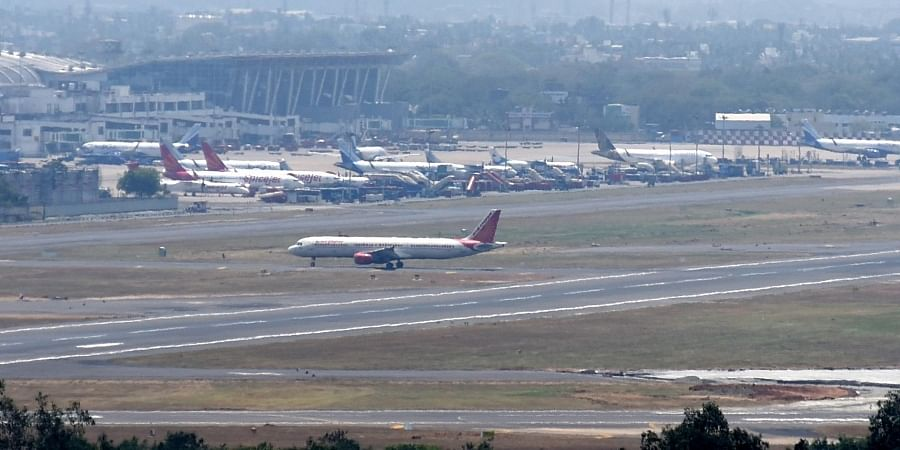 Cancelled flights parked in Chennai airport