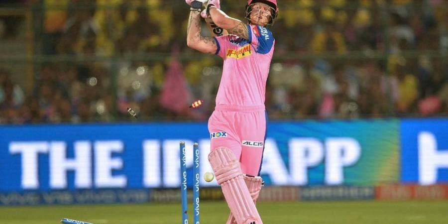 Rajasthan Royals cricketer Ben Stokes. (Photo | AFP)