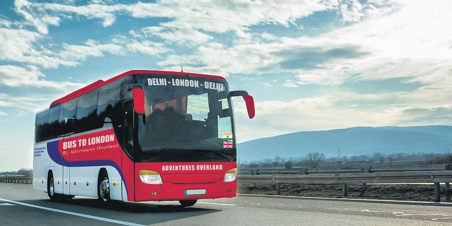 Adventures Overlandare will soon open bookings for a Delhi to London bus tour, May 2021.