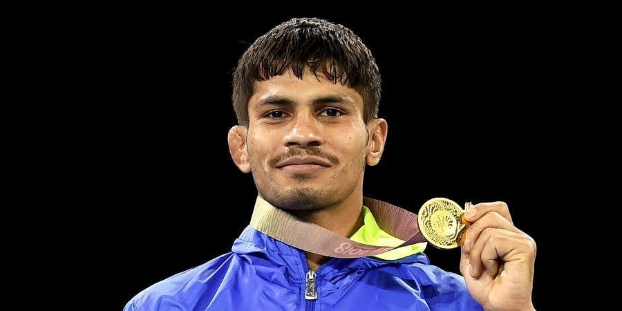 Indian wrestler Rahul Aware