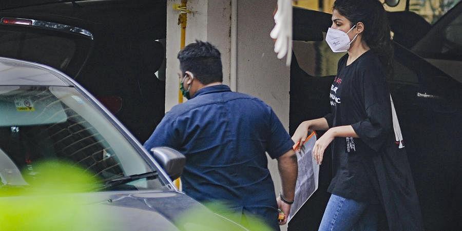 Bollywood actress Rhea Chakraborty. (Photo   PTI)