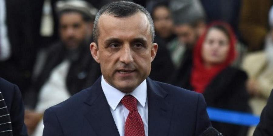 Afghanistan vice-president Amrullah Saleh