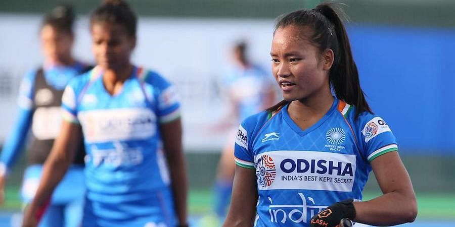 Indian women's hockey team forward Lalremsiami