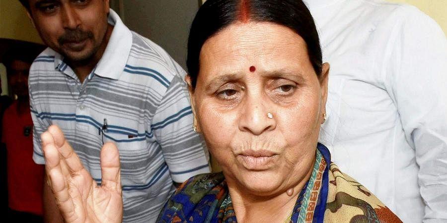 Former Bihar CM Rabri Devi