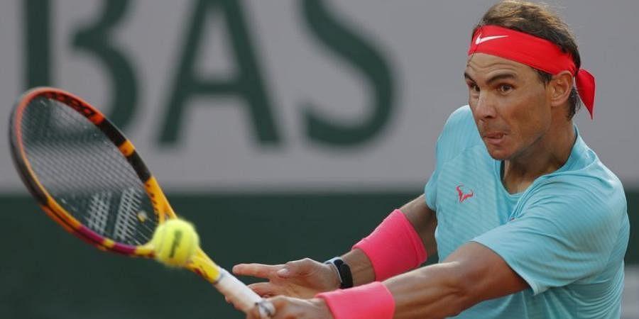 ATP world number two Rafael Nadal