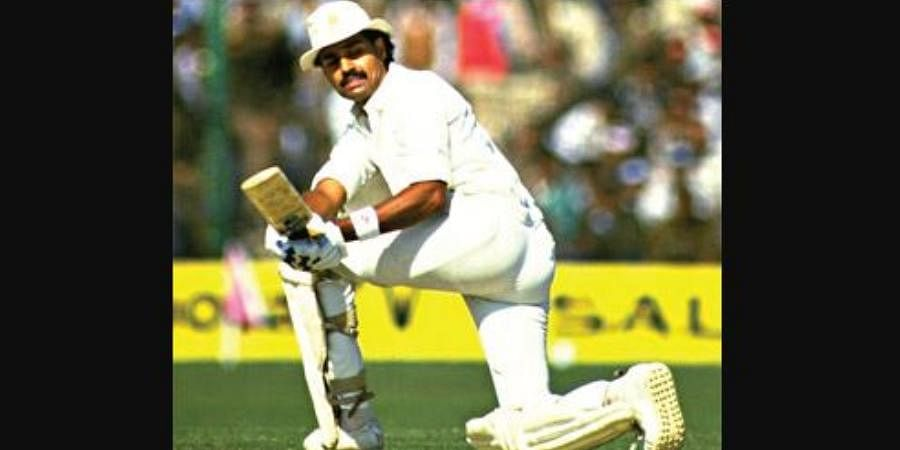 Former Indian batsman Dilip Vengsarkar