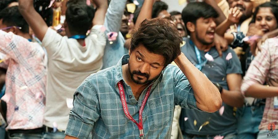 A still from Vijay-starrer 'Master'.
