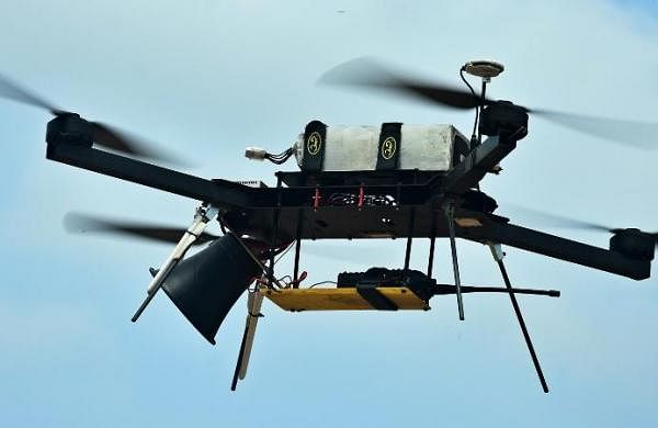 Drone operations feature for first time at Army Day parade