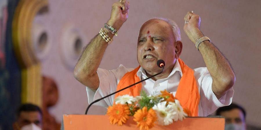 Karnataka chief minister B S Yediyurappa. (Photo   Meghana Sastry, EPS)