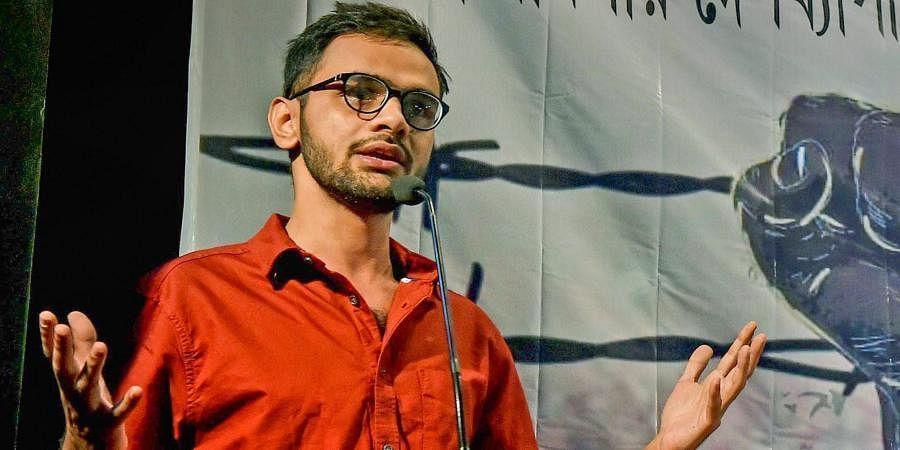 Former JNU student leader Umar Khalid