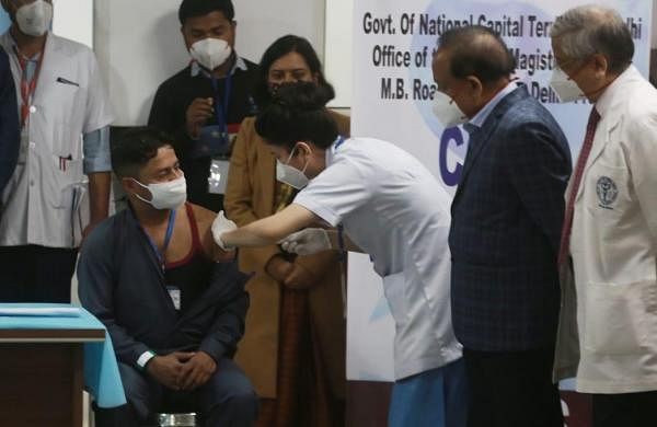 PM Modi launches India's coronavirus vaccine drive, first shot administered