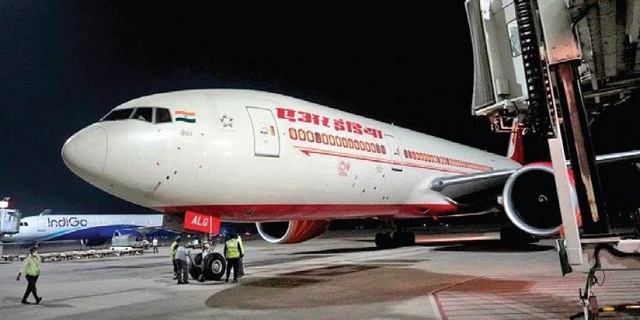 Air India's first-ever non-stop flight from Chicago lands at GMR Hyderabad International Airport at 1 am on Friday