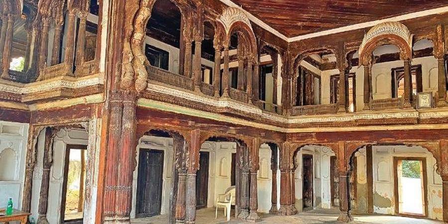 MAUD principal secy Arvind Kumar tweets a photo of Raja Bhagwandas Bagh Pavilion