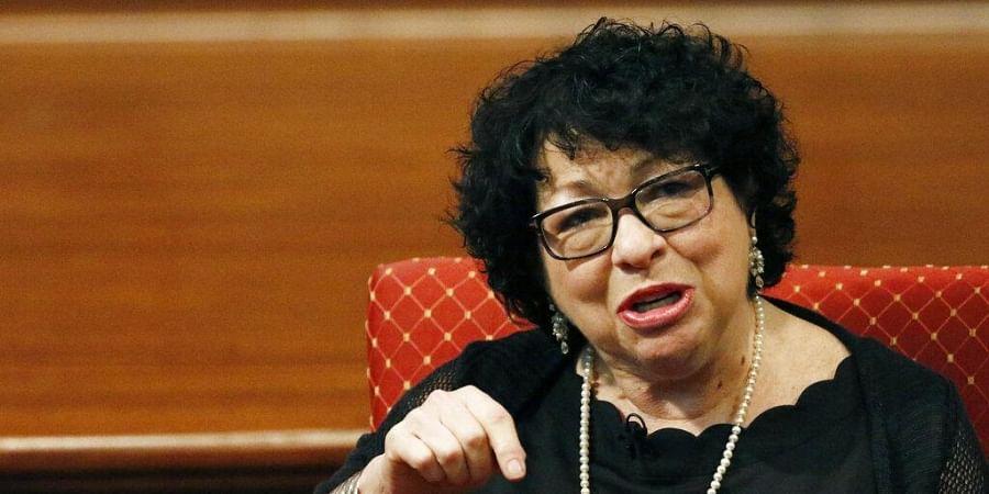 U. S. Supreme Court Associate Justice Sonia Sotomayor. (Photo   AP)