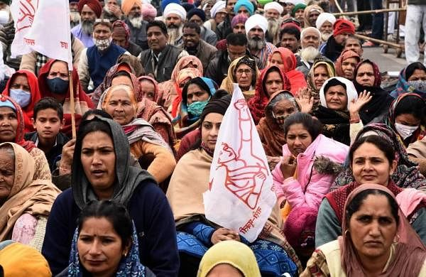 Stir against agri laws: Women take over the reins on Monday to mark 'Women Farmers' Day'