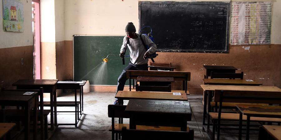 classroom, Delhi classroom
