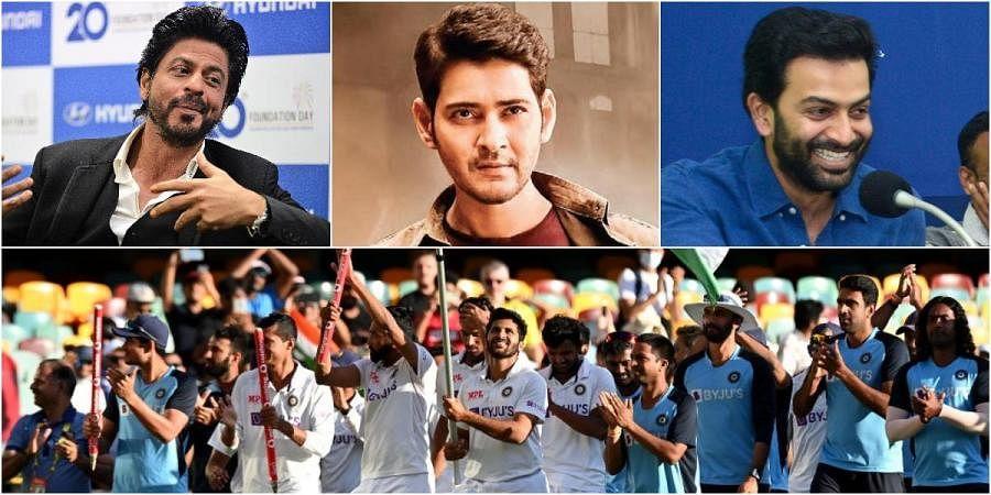 Celebrities like Shah Rukh Khan, Mahesh Babu and Prithviraj lauded team India for their victory