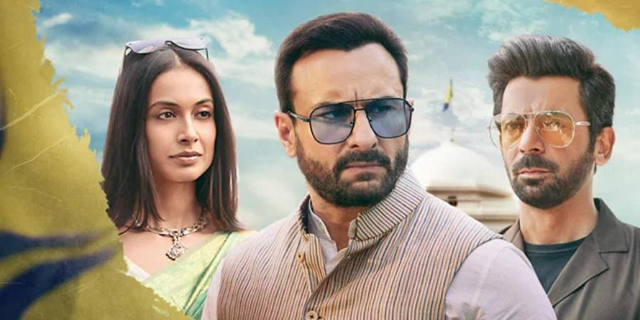 A still from web series 'Tandav'.