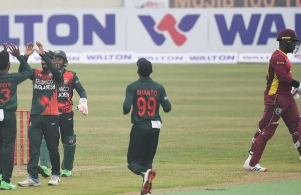 Shakib Al Hasan returns with 4-8 as Bangladesh skittles West Indies for 122 all out