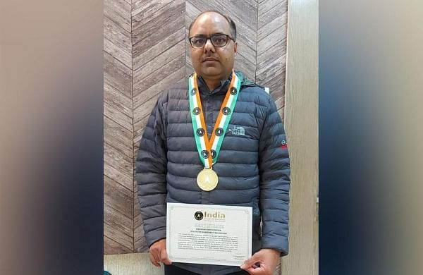 Bihar IAS officer enters India Book of Records for biggest walkathon on voter awareness