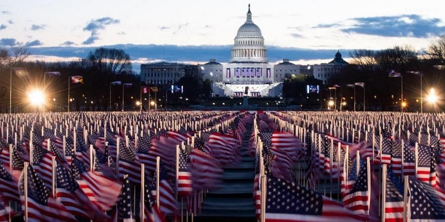 About 200,000 have been placed outside the Capitol Hill. (Photo| AFP)