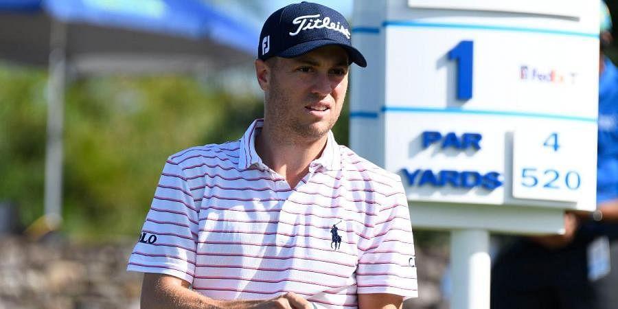 Golfer Justin Thomas