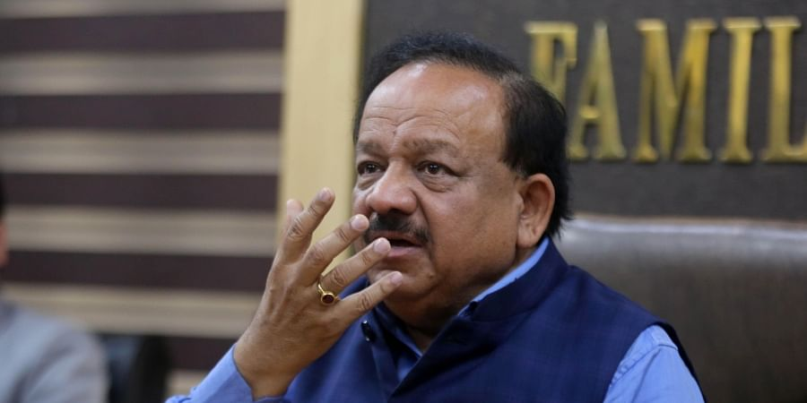 Union Health Minister Dr Harshvardhan.