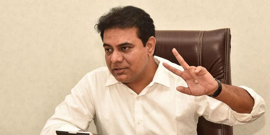 Telangana minister KT Rama Rao (Photo| Vinay Madapu, EPS)