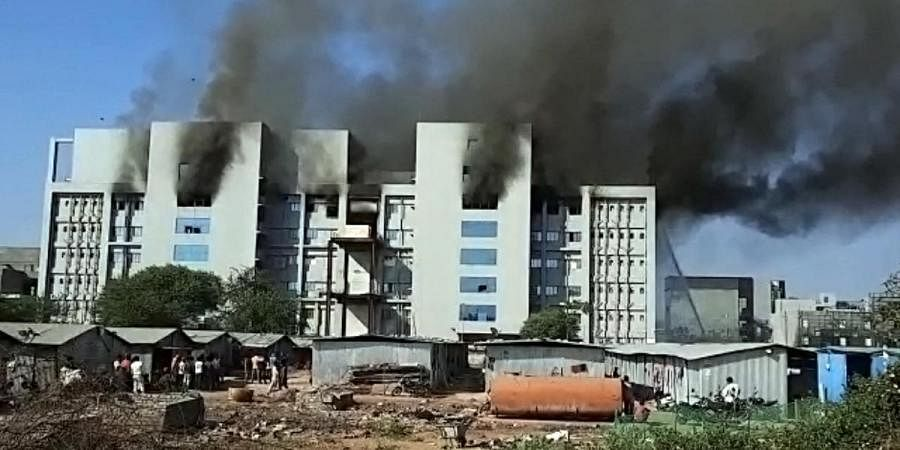 Fire broke out at Serum Institute of India, in Pune