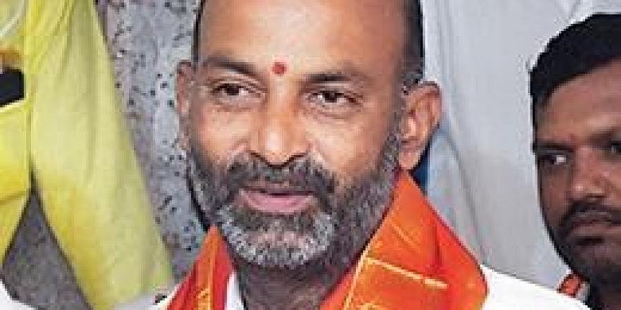 BJP MP Bandi Sanjay Kumar
