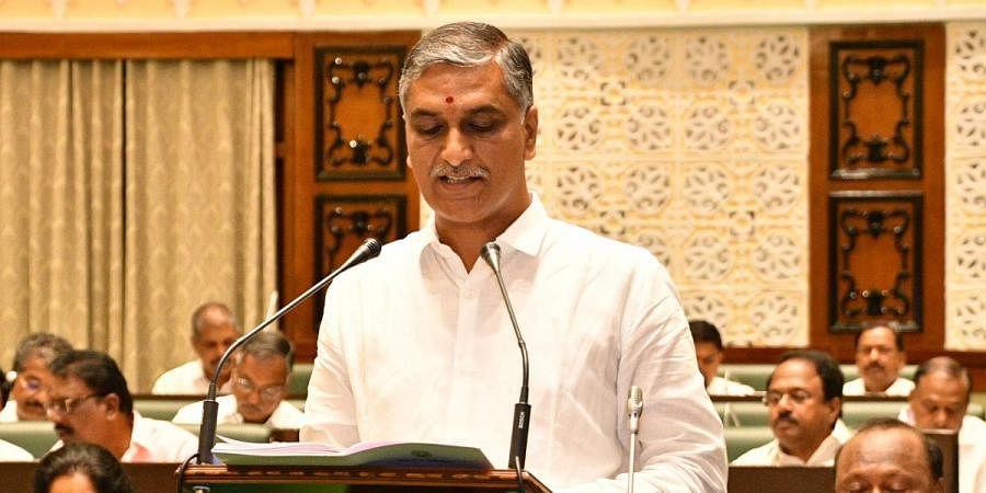 Telangana Finance Minister T Harish Rao