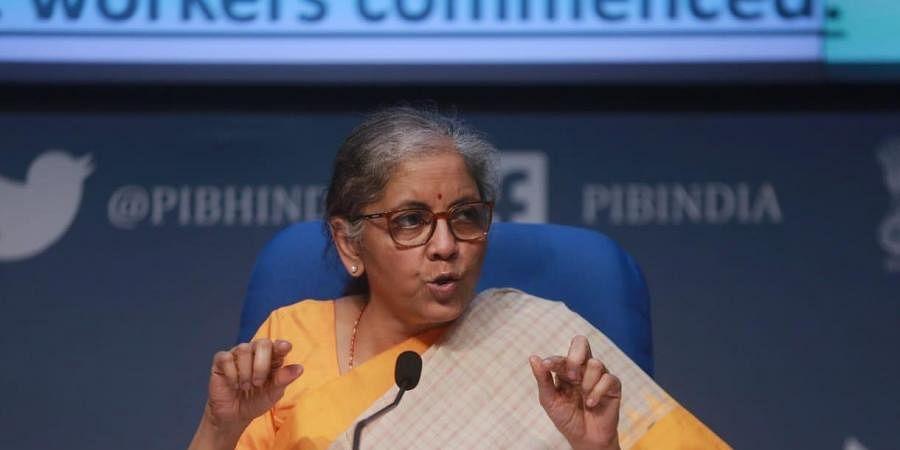Union Finance Minister Nirmala Sitharaman (Photo  Shekhar Yadav, EPS)