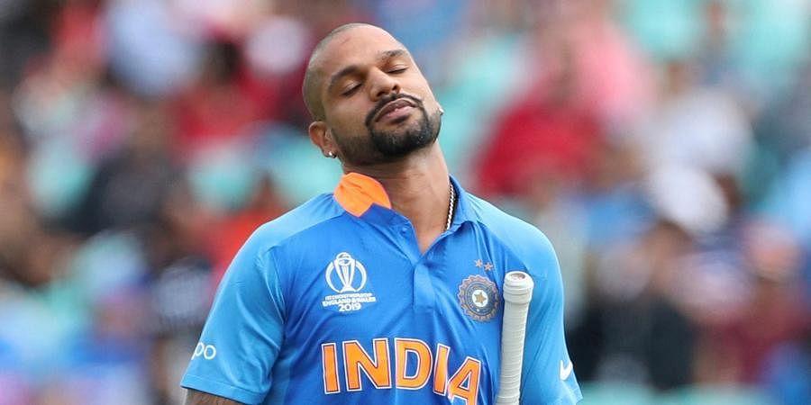 Senior India opener Shikhar Dhawan