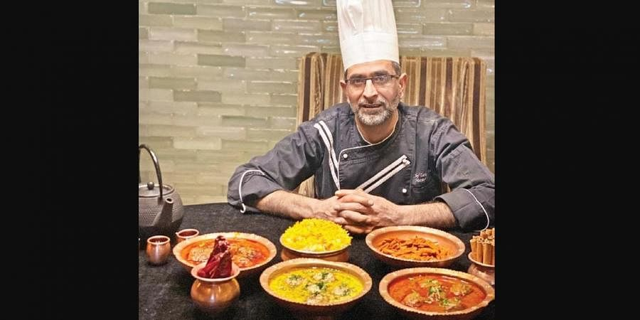 Chef Tariq is from a family of Wazas, with generation after generation of the Ahmed family having passed down the recipes of Wazwan.