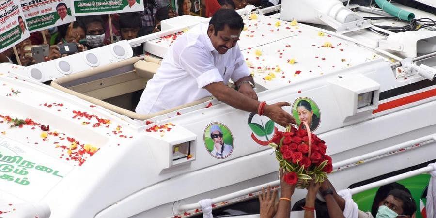 Stalin wielding 'vel' to deceive people: Tamil Nadu CM Edappadi  Palaniswami- The New Indian Express