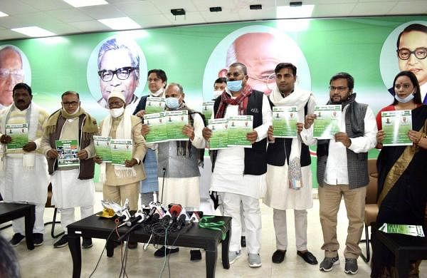 JDU launches party mouth piece 'JDU-Sandhan' in Hindi, English