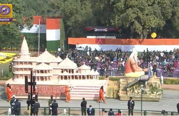 Republic Day parade: UP tableau displays Ayodhya's Ram Temple