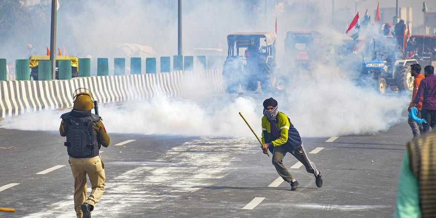 More paramilitary forces being deployed in Delhi after violence during farmers' tractor rally- The New Indian Express