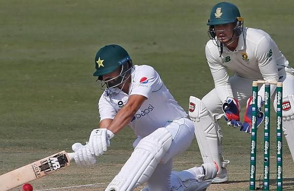 Pakistan rallies to reach 104-4 in first Test against South Africa