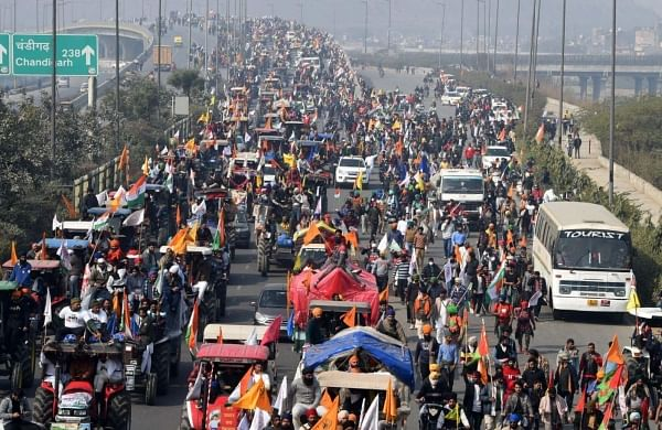 After violence during tractor rally, Budget day march to Parliament cancelled by farmer unions