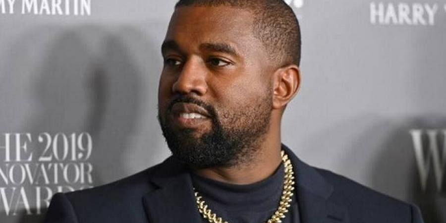 Rapper Kanye West (Photo | AFP)