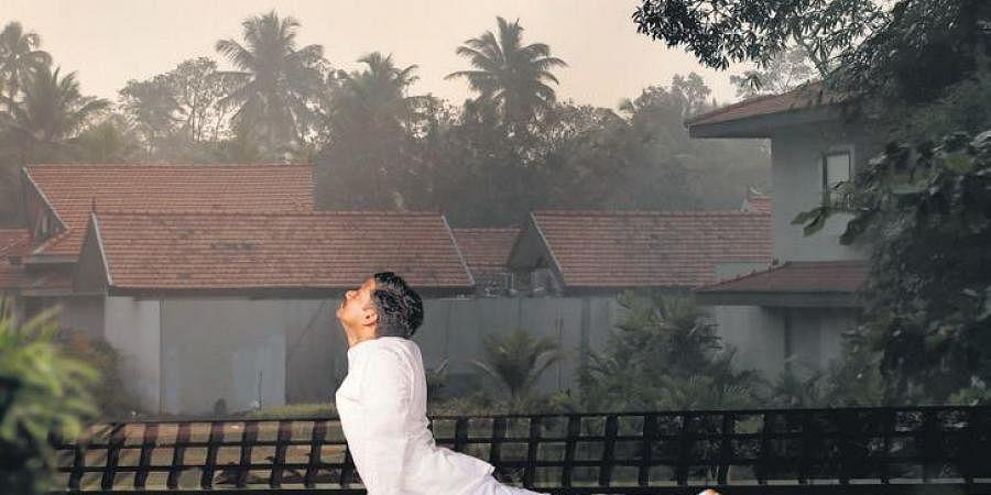 Yoga at Niraamaya Retreats Backwaters and Beyond, Kumarakom