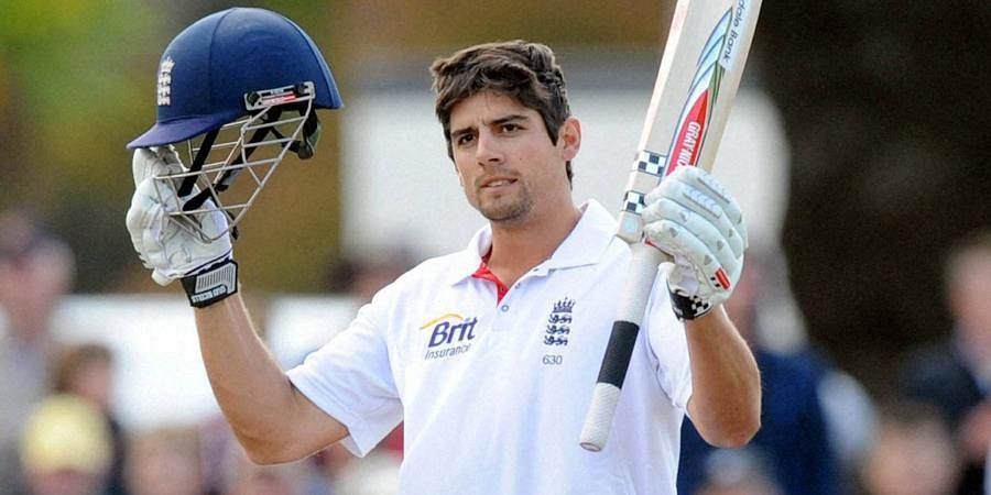 Former England batsman Alastair Cook