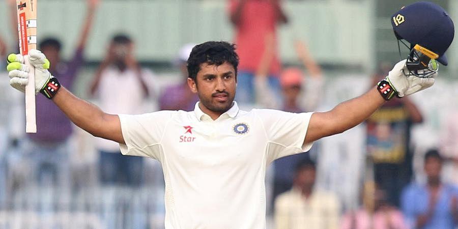 India batsman Karun Nair